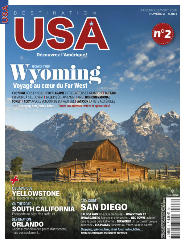 Couverture Destination USA n°2