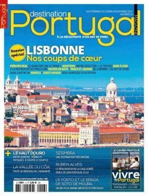Couverture Destination Portugal numéro 6