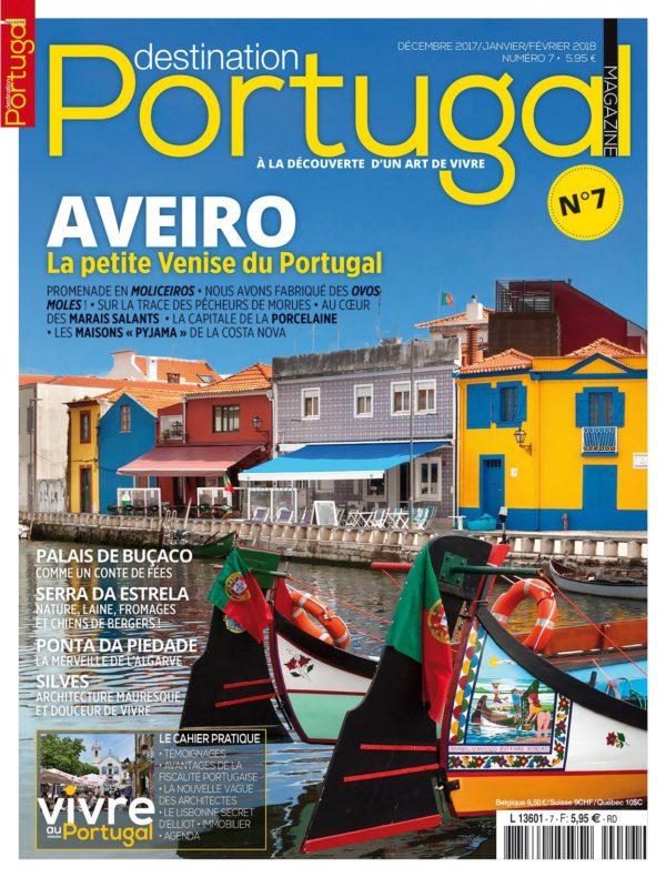 Couverture Destination Portugal numéro 7