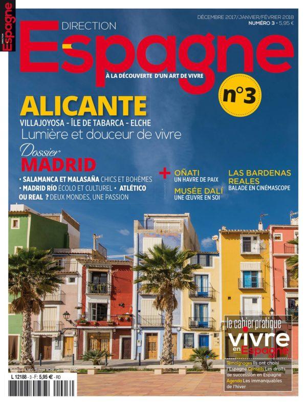 Couverture Direction Espagne numéro 3