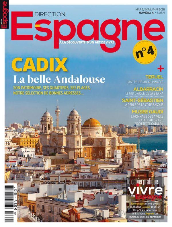 Couverture Direction Espagne numéro 4