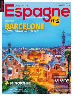 Couverture Direction Espagne numéro 5