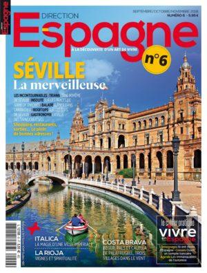 Couverture Direction Espagne numéro 6