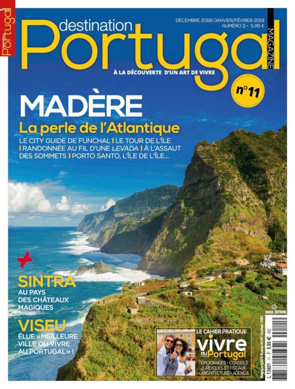Couverture Destination Portugal numéro 11