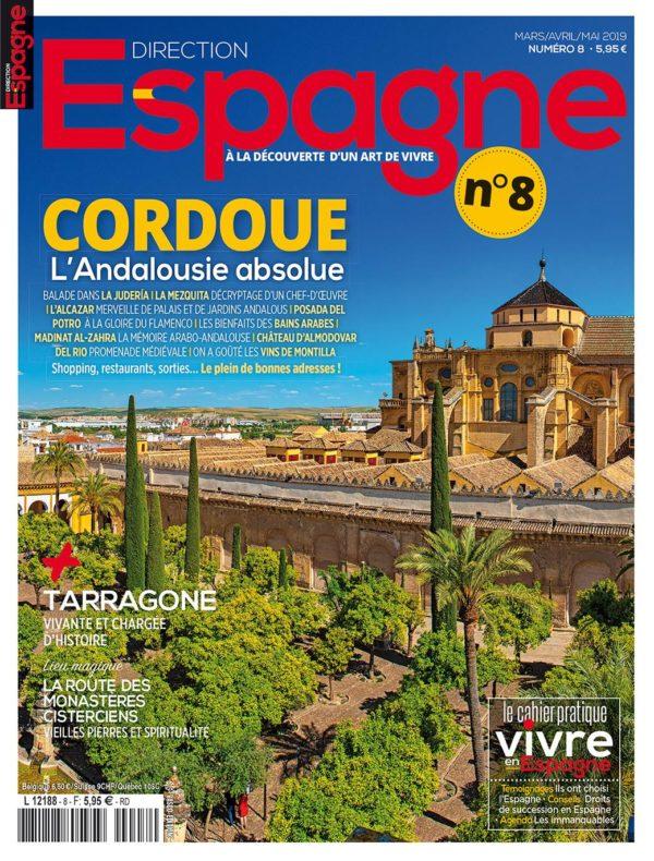 Couverture Direction Espagne numéro 8