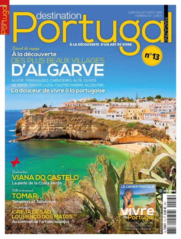 Couverture Destination Portugal numéro 13