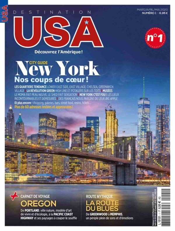 Couverture Destination USA n°1