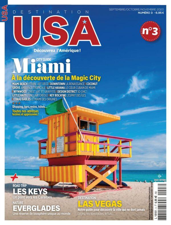 Couverture Destination USA n°3