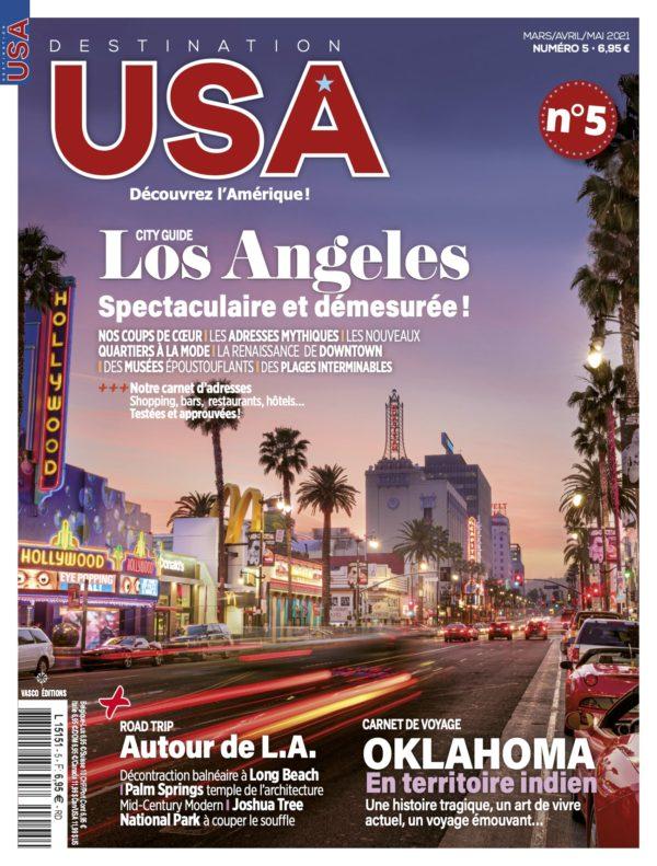 Couverture Destination USA n°5