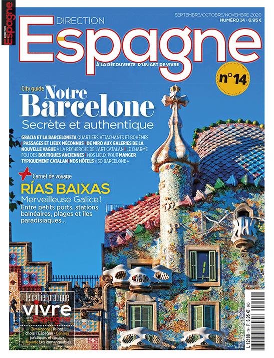 Couverture Direction Espagne numéro 14