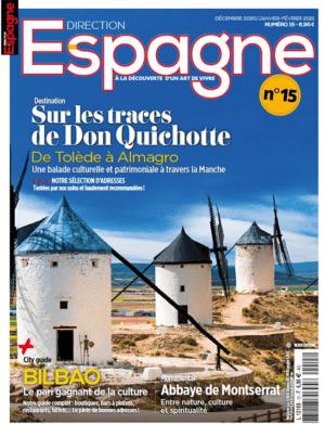 Couverture Direction Espagne numéro 15