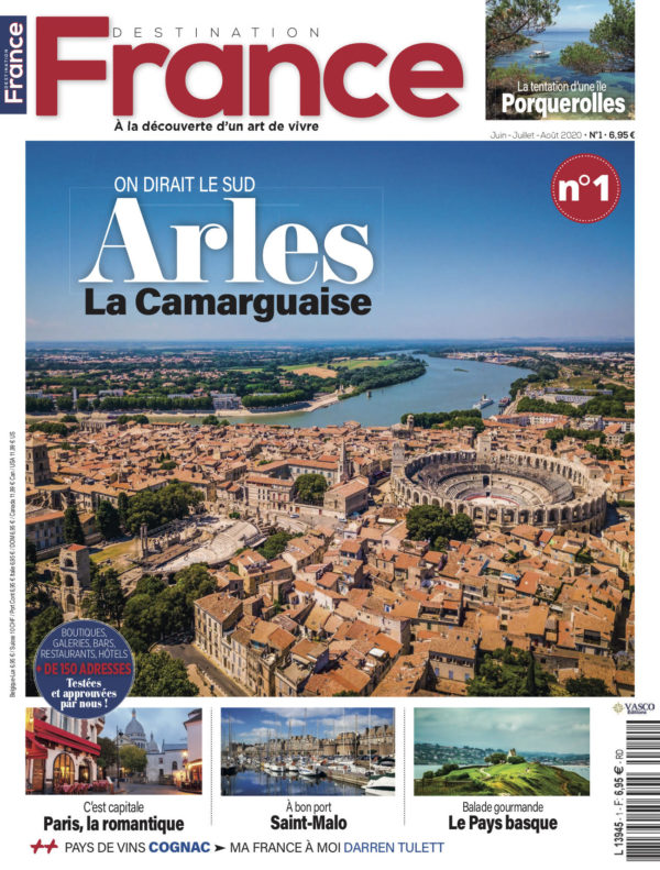 Couverture Destination France n°1