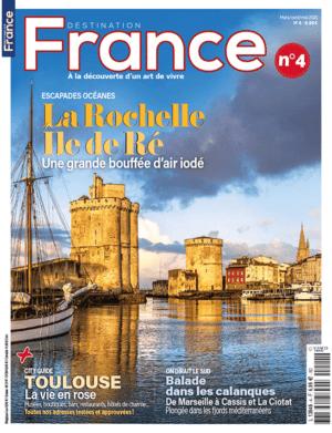 Couverture Destination France numéro 4