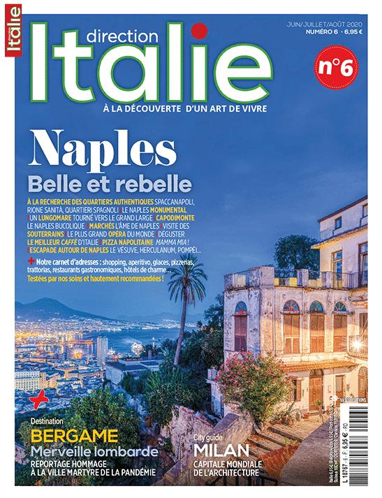 Couverture Direction Italie numéro 6