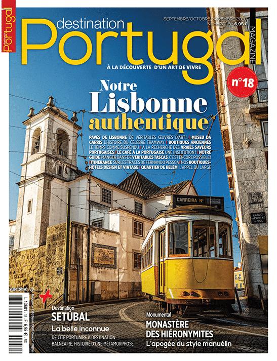 Couverture Destination Portugal numéro 18
