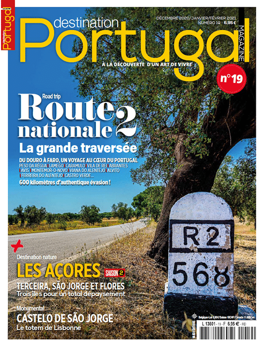 Couverture Destination Portugal numéro 19