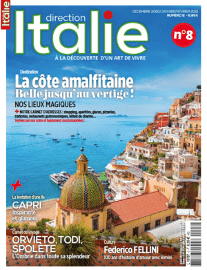 Couverture Direction Italie numéro 8
