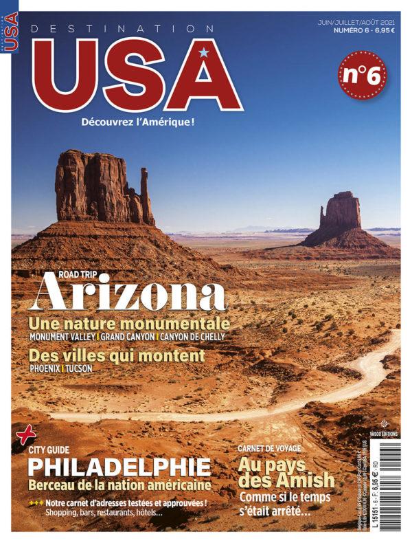 Couverture Destination USA n°6
